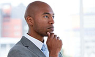 Man Thinking | Professional Financial Consultation | Houston, TX