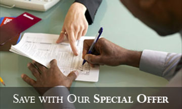 Signing Document | Professional Financial Consultation | Houston, TX